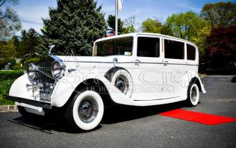 Antique Rolls Royce Limousine