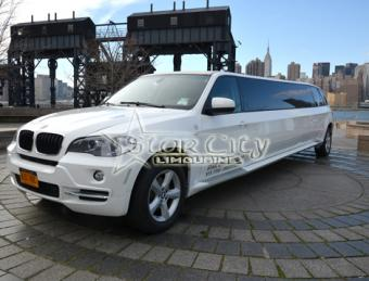 BMW Limousine in NY