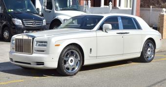Rolls Royce Phantom in New York
