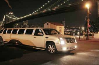 Cadillac Escalade Limo in NYC