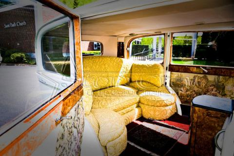 Antique Rolls Royce Limousine for Birthday
