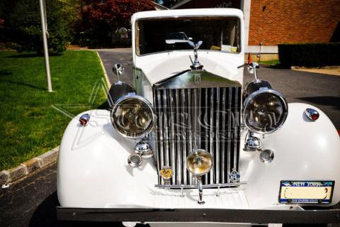 Antique Rolls Royce Limo