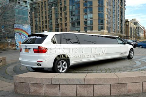 BMW Limousine in NYC