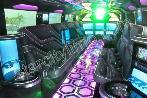 Hummer Limousine for Wedding