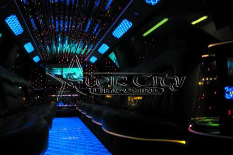 Escalade Limousine for Sweet Sixteen