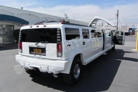 Hummer Jet Limousine in NYC Weddings