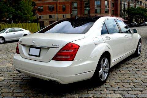 Mercedes S550 Limousine in New Jersey