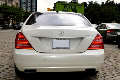 Mercedes S550 Limousine for Wedding