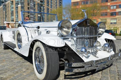 Rolls Royce Convertible Limousine in NYC