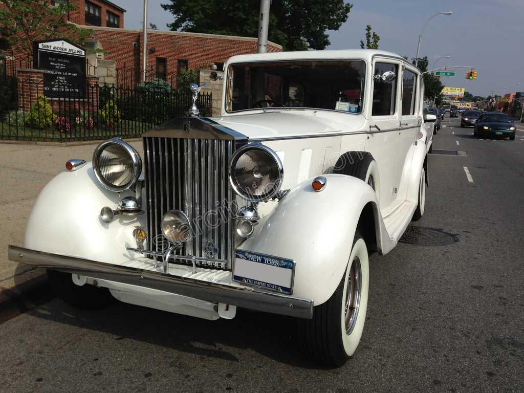 Antique Rolls Royce for Wedding in New Jersey