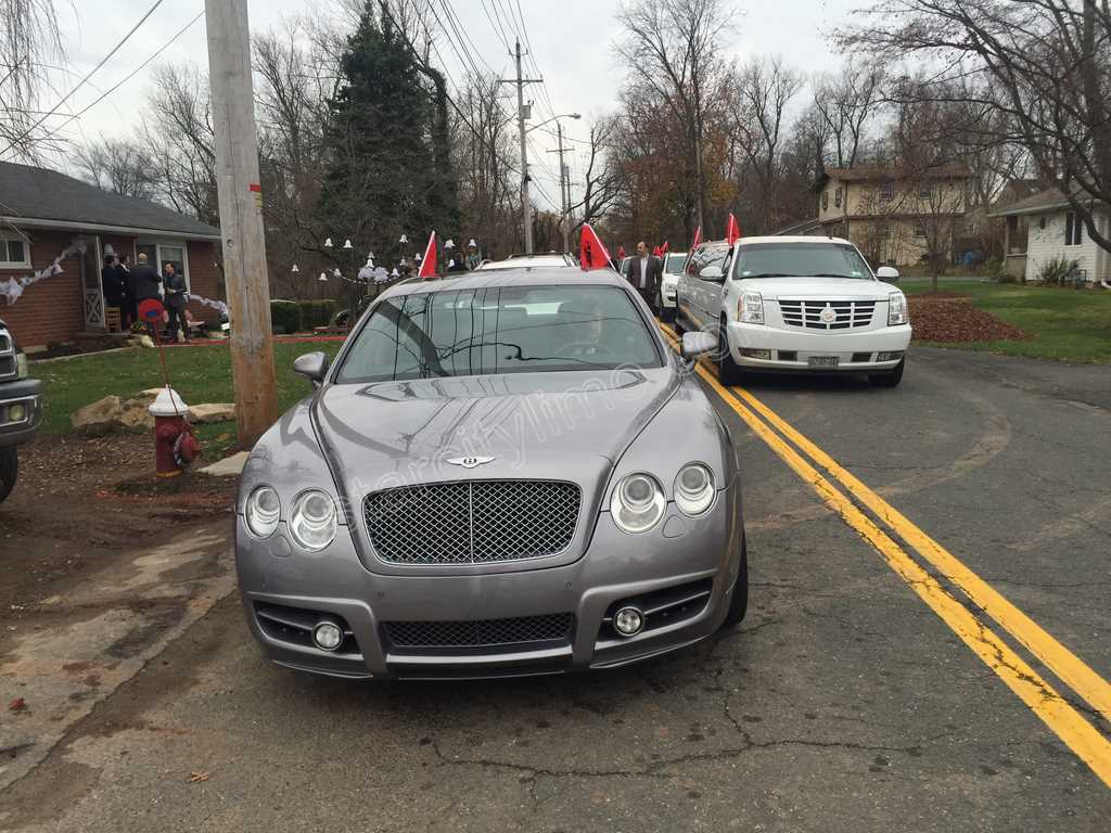 Bentley and Cadillac Escalade Limousine - Albanian Wedding