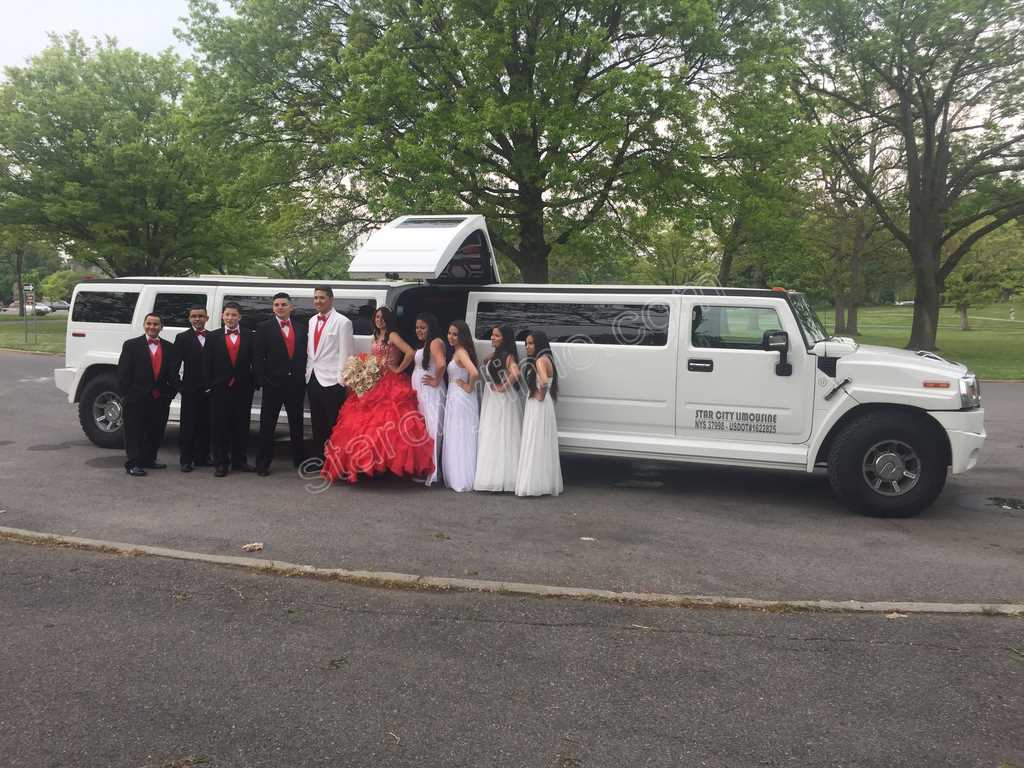 Hummer H2 Limo Sweet Sixteen in Bronx