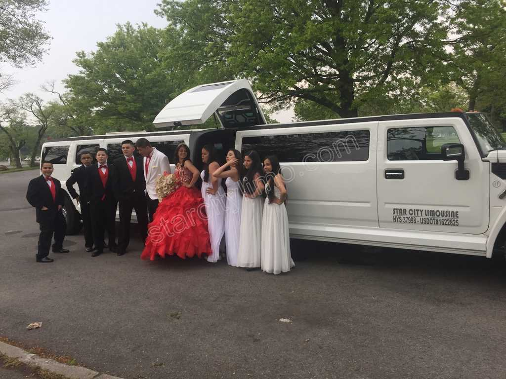 Hummer H2 Limousine Sweet Sixteen in Brooklyn