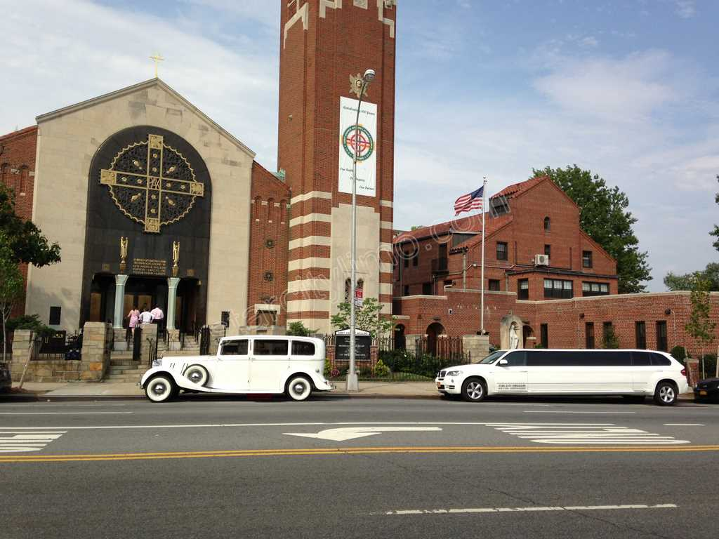 Rolls Royce and BMW limousine Wedding in Queens